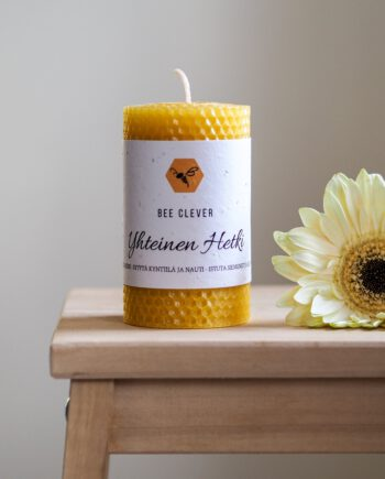 Yhteinen_Hetki_Mehiläisvahakynttilä_BeeClever